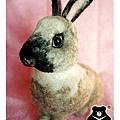 felt rabbit_羊毛氈兔子_皮皮4