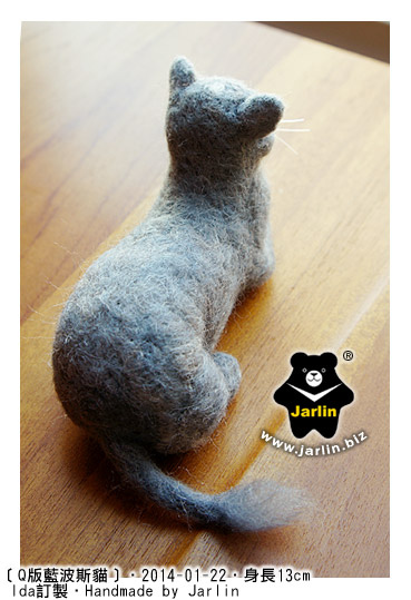 felt-cat羊毛氈貓_藍波斯1