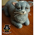 felt-cat羊毛氈貓_藍波斯5