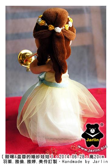 新娘吹長號的婚紗娃05
