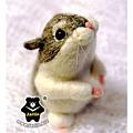 羊毛氈_小倉鼠綿綿05_felt hamster