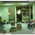10月7日家具跟比較大的包裹都上卡車了,但還剩下不少東西