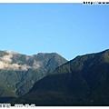 花蓮的家,可以看到這麼漂亮的山與天空