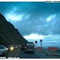 這一天是雙十連假的開始,蘇花公路往南的方向有好多車要去花東