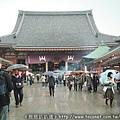 雨天的淺草寺