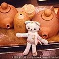 可愛的醬料陶器組!