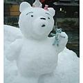 大雪熊跟小熊熊們