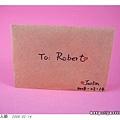 我畫給Robert的卡片