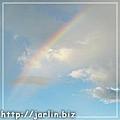 阿媽家拍的彩虹