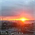 橫濱的日出