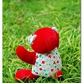 20090402_2009春天熊_小紅花