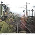 礁溪站附近的鐵路