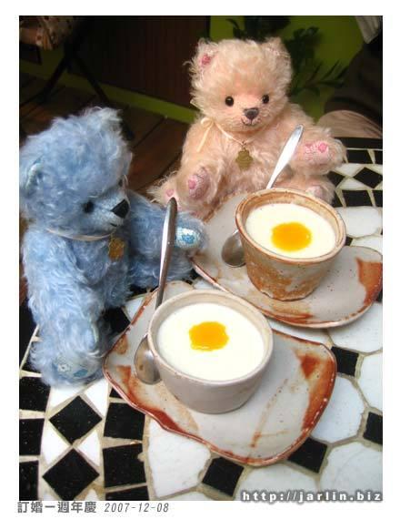 甜點是芒果奶烙