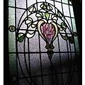典雅的彩繪玻璃