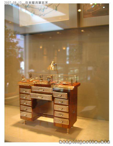 袖珍的珠寶工作桌