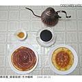 ●香噴噴早餐_蜂蜜鬆餅+手沖咖啡(080820)