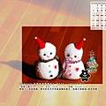 12月_2008聖誕小雪人