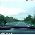 辦好住房手續後,我們趕緊驅車去關山看日落!