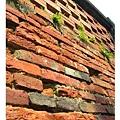 赤崁樓的紅磚牆
