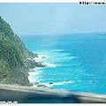 開車在蘇花公路上,常常都可以看到美麗的海岸!
