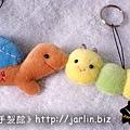 20040203_小烏龜 & 毛毛蟲鑰匙圈