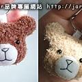 20040718_毛毛熊頭鑰匙圈