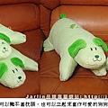 20050203_綠茶狗枕頭