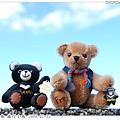 20090711_迷你台灣黑熊 & 旅行小熊