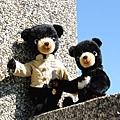 20090118_佳微穿唐裝的台灣黑熊