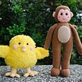 20090216_猴媽媽牽小雞
