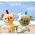 20080707_扶桑花小熊