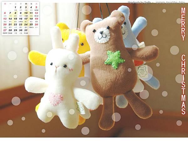 12月_1_天使熊 & 天使兔