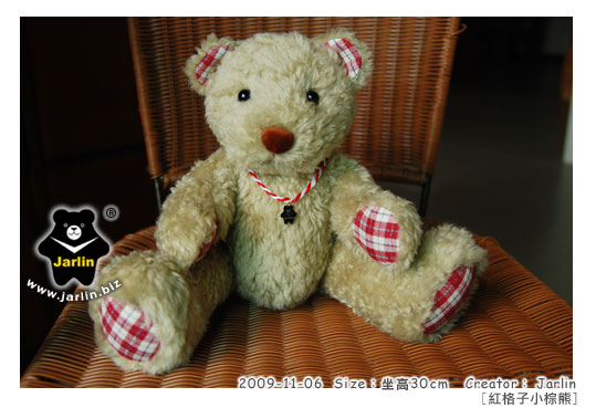 20091106_紅格子小棕熊02.jpg
