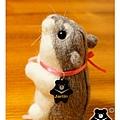 羊毛氈_小倉鼠綿綿08_felt hamster
