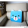 20101007_小藍熊靠枕
