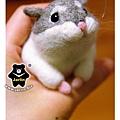 羊毛氈_小倉鼠綿綿03_felt hamster