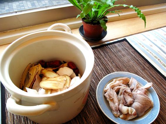 杏鮑菇牛蒡燉雞湯_食材_S