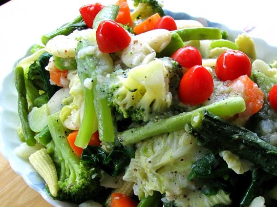 總匯蔬菜熱沙拉01_S