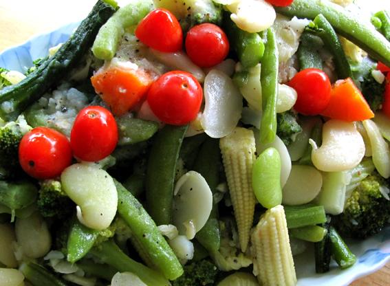 總匯蔬菜熱沙拉02_S