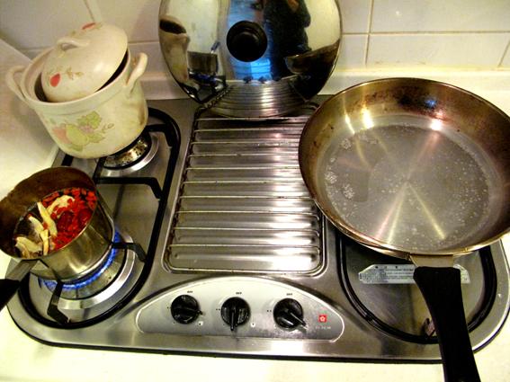 麻油燒酒蝦_起兩鍋