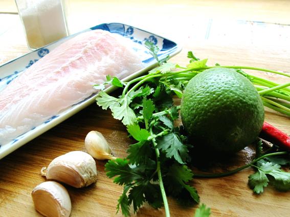 電鍋泰式檸檬魚 _材料_S