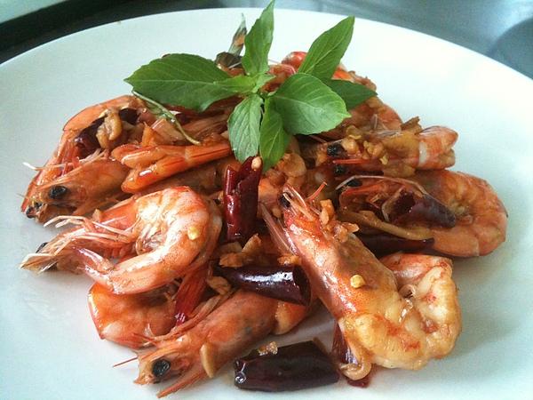 乾燒醬蝦01