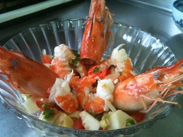 鮮筍泰國蝦