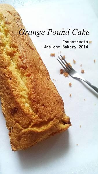 橙香磅蛋糕8