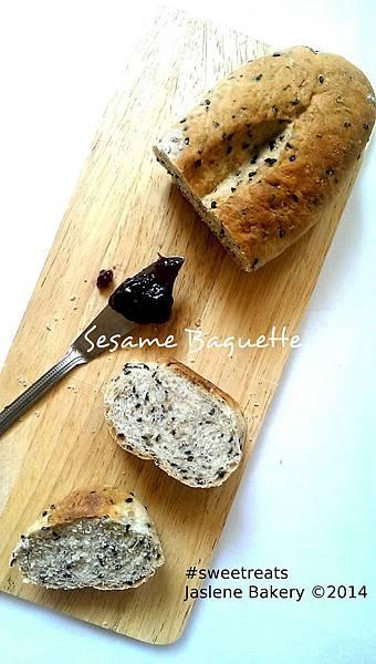 Sesame Baguette 2