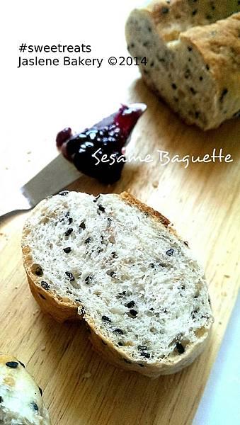 Sesame Baguette1
