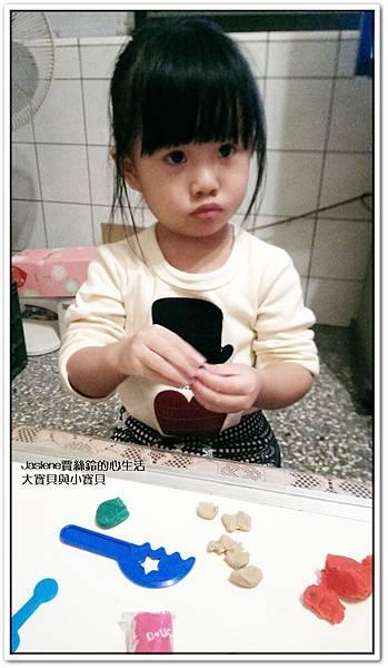 料理黏土趣,兩歲半的學習2