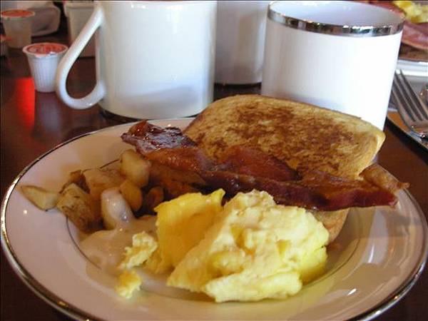 旅程最後一天免費早餐