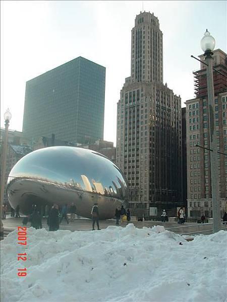 芝加哥現在最hot的地標The Bean