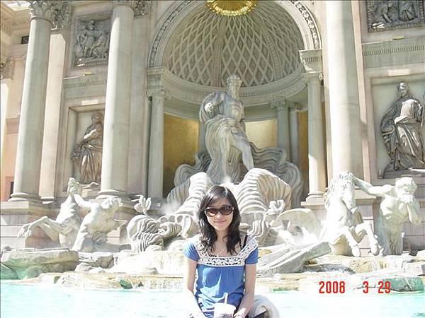 羅馬最有名的許願池 我想念奧黛莉赫本了